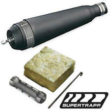"SuperTrapp Clamp On 4-Stroke Exhaust Muffler Kit - Black - 1-1/4"" OD"