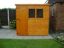Elite Sheds 12mm T&G Shiplap Garden Pent Sheds High Quality Tongue And Groove