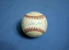 1987 Cincinnati Reds team autographed baseball 29 signatures