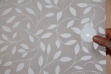 2Stück Set Magnetgriffe alu rund 44 mm für Flächenvorhang Paneel Gardine weiß