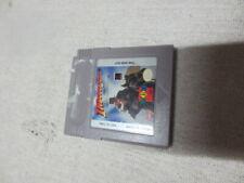 Indiana Jones and the last crusade nintendo game boy game cartridge