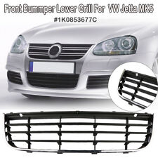 Front Bumper Lower Grill Grille Assembly For VW Jetta MK5 1K0853677C 2006-2010