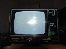 pointer 59501 - mini car TV - mini télévision vintage de camping car - rare