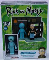 Rick and Morty Smith Family Garage Rack Adult Swim Construction Set.
