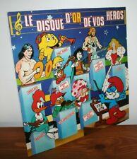 vinyle récré A2 / Club Do / générique / AB manga / TV disque 33T LP / ED.Dupuis
