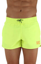 EMPORIO ARMANI EA7 Fluorescent Yellow Beach Shorts Sizes S M L XL XXL BNWT