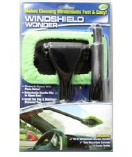 Windshield Wonder Car Glass Window Cleaner Demister Wiper Handle Wand Microfiber