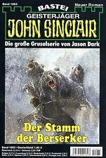 JOHN SINCLAIR ROMAN Nr. 1963 - Der Stamm der Berserker - Ian Rolf Hill NEU