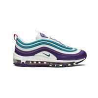Nike Women's Air Max 97 Hornets White Purple Volt Running Shoes CI7388-101 NEW