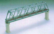 Tomix 3030 Truss Bridge Set w/ 2 Concrete Piers (Blue) (N scale)