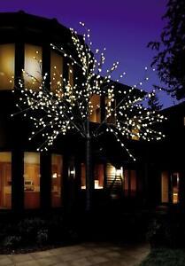 LED Baum Lichterbaum 500 LED, 220 warm-weiß, innen außen Leuchtbaum Lichterkette