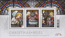 CANADA 2011 Souvenir Sheet #2490 Christmas: Stained Glass MNH