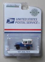 USPS 1971 Jeep DJ5 Blue HOBBY GREENLIGHT DIECAST 1:64