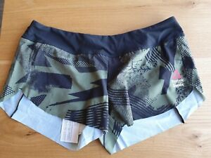 Brand New Green Reebok RC KNW Crossfit Shorts With Mesh Lining Size XL RRP£34.95