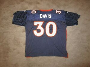Vintage 90's Starter Denver Broncos Terrell Davis #30 Jersey Men's Size 54/2XL