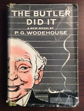 The Butler Did It (1957, Hardcover) P G Wodehouse PreOwnedBook.com