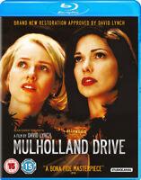 Mulholland Drive Blu-Ray (2017) Justin Theroux, Lynch (DIR) cert 15 ***NEW***
