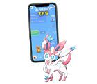Pokemon Sylveon Level 35 High CP Trade GO 2700