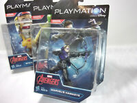 Marvel Avengers Lot of 3 Action Figures by Hasbro Disney Playmation Hawkeye