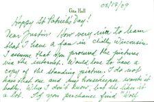 GITA HALL Autograph Letter Signed