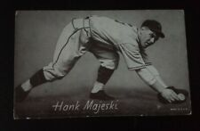 1947-1966 Baseball Hank Majeski Exhibit Card