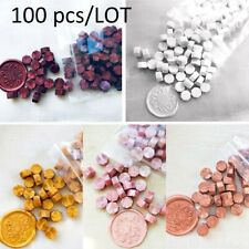 100Pcs/Lot Retro Stamping Sealing Beads Wax Stamps Envelopes Party Invitation