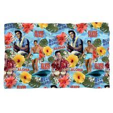 New 58x36 Elvis Presley Blue Hawaii Fleece Throw Gift Blanket Movie Surfing King