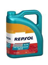 Repsol Elite LongLife Sintético 5W30 Aceite de Motor, 5L