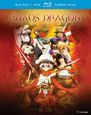 Chaos Dragon: The Complete Series (BD/DVD, 2016, 4-Disc Set)
