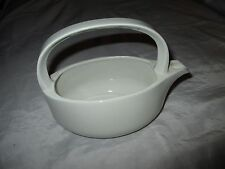 Vintage Modernist Midwinter Style Wedgwood All White Gravy Sauce Boat