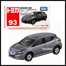 TOMICA #93 NISSAN LEAF 1/63 TOMY 2017 October NEW DIECAST CAR First edition