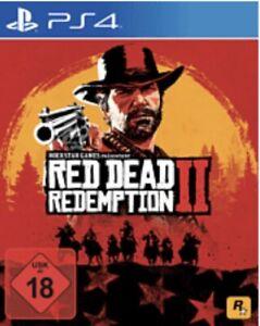 Red Dead Redemption 2 - PlayStation 4   Blitzversand