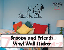 Snoopy and Friends Custom Wall Vinyl Sticker