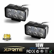"Xprite 18W 5"" LED Work Light SPOT Lamp for Truck 4WD 4X4 OffRoad Jeep x2 Lights"