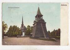 Dalarna Mora Kyrka Med Klockstapel Sweden 1902 Postcard 420b