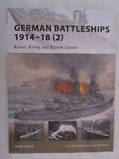 Osprey Book - German Battleships 1914-18 (2) (New Vanguard 167)
