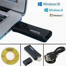 Mini USB 2.0 Port HDMI 60fps HD Video Game Capture TV Tuner Card Monitor for PC