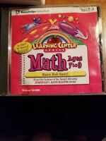 Learning Center Series, MATH Ages 7-9. Knowledge/Adventure Windows 95 or 98