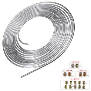 Copper Nickel Brake Line Tubing Kit Fittings 3/16in OD Tube Corrosion Resistant