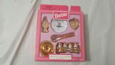 Nib 1997 Mattel Barbie Special Collection Cookware Set