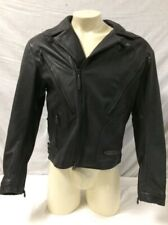 Harley-Davidson FXRG Armored Men's Heavy Weight Leather Jacket SZ Med 98510-99VM