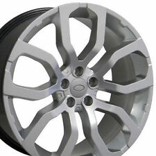 "Brand New Set of 4 22"" Land Rover Range Rover Wheels Rims Hyper Silver 22x10"""