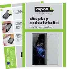 6x Sony Xperia XZ2 Screen Protector Protection Anti Glare dipos