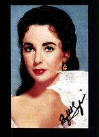 Elisabeth Taylor Foto Original Signiert ## BC G 17921
