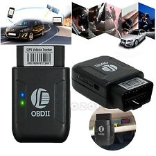 OBD2 GPS Tracker RealTime Personal Car Vehicle OBDII GSM GPRS Tracking Device US