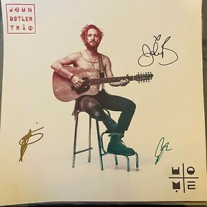 """John Butler Trio Hand Signed Autographed 12"""" Print"""