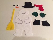 Frosty The Snowman Felt Flannel Board Story