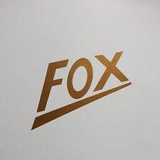 Adesivo * Nsu Fox * * Oro * sticker decalcomania logo * Oldtimer Moto