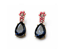 Glitz Trendy Fashion Drop & Dangle Resin Must Have Multi-Colour Earrings