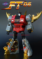 Transformers Fanstoys FT06 Ft-06 Robot Dinosaur Howl Snarl Primary color version